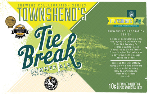 Tie Break Summer Ale