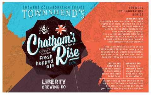Chathams Rise Fresh Hopped Ale