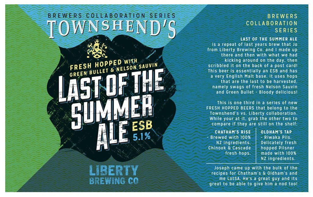 Townshend's Last of the Summer Ale