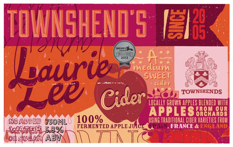 Laurie Lee Cider