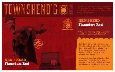 Ned's Head Flaunders Red