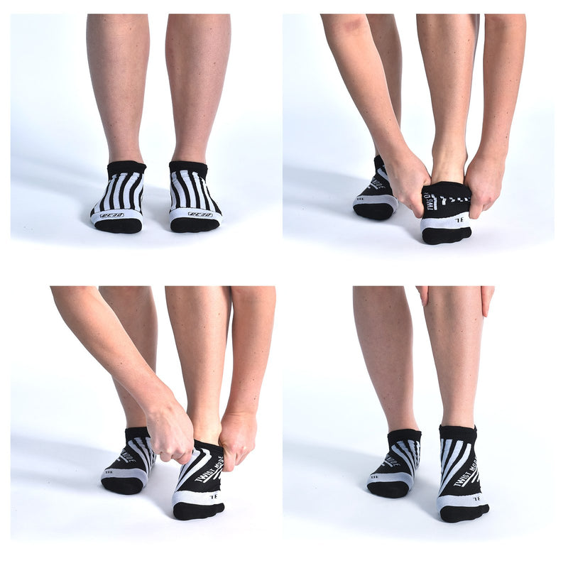 Compression Ankle Striker Socks (3 pairs)