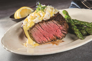 RECIPE: Grilled Filet Mignon With Crab Hollandaise Sauce