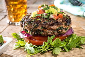 INSPIRATION: The Certified Angus Beef® Lean & Green Burger