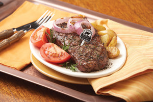 MEDITERRANEAN GRILLED NEW YORK STRIP STEAK