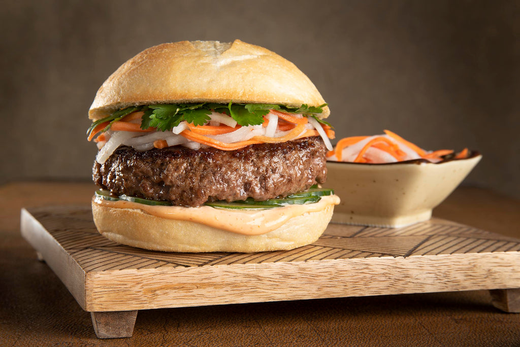 INSPIRATION: The Certified Angus Beef® Banh Mi Burger
