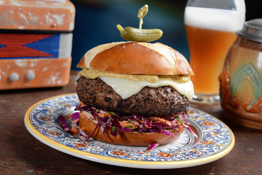 INSPIRATION: The German-Style Certified Angus Beef® Burger