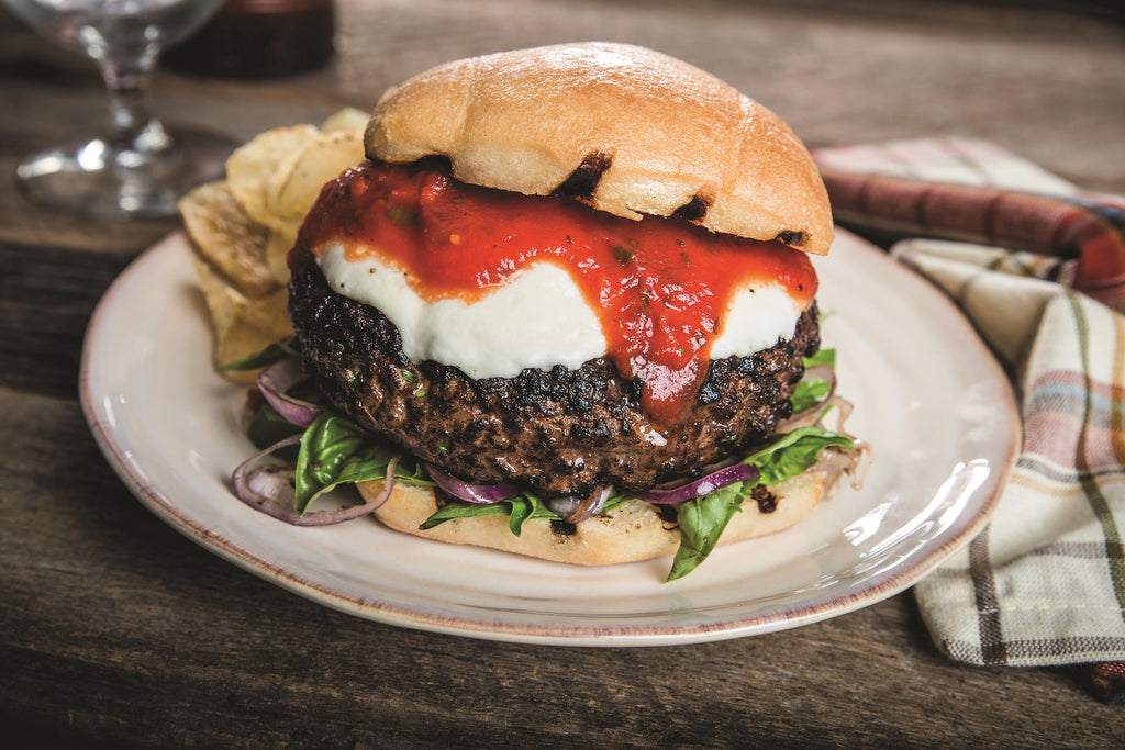 INSPIRATION: The Italian-Style Certified Angus Beef® Burger