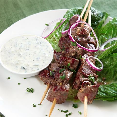 Marinated Lamb Skewers