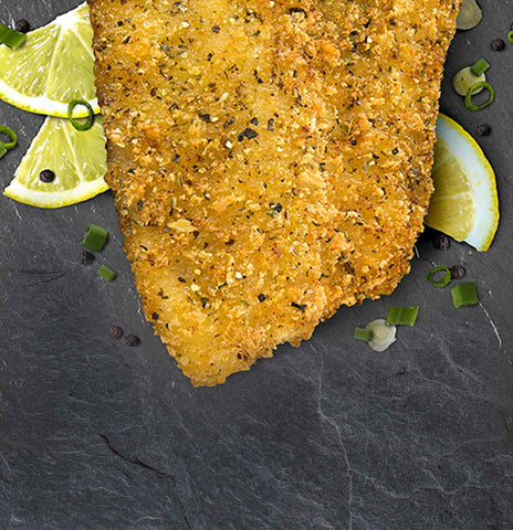 Top Crusted Lemon Pepper Tilapia Fillets