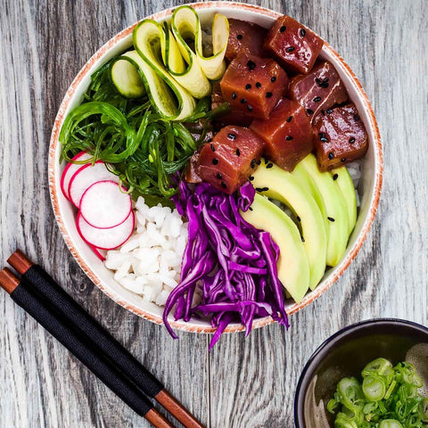 Tuna Poke Kit With Wasabi Sauce