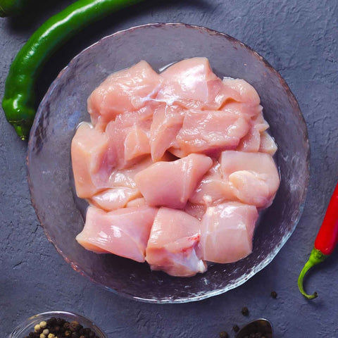 Rossdown Farms Chicken Breast Chunks