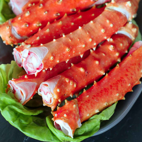 Merus Red King Crab Leg Sections