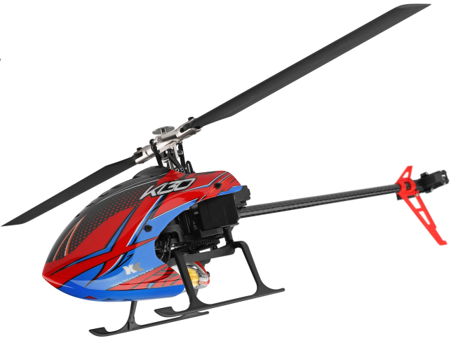 XK K130 RC Helicopter 2.4G 6CH Brushless 3D6G Flybarless (Compatible w/ FUTABA Tx) BNF