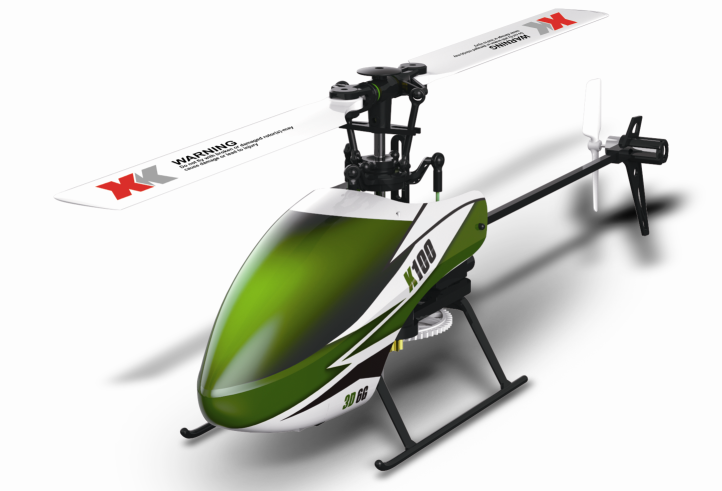 XK K100 6CH flybarless single blade 3D 6G Helicopter (Suitable for Beginners) RTF