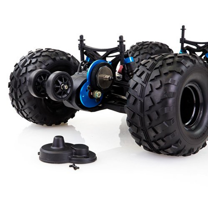 Brushless Rear Wheel Drive 1/10 scale Crusher - On and Off Road Monster Truck