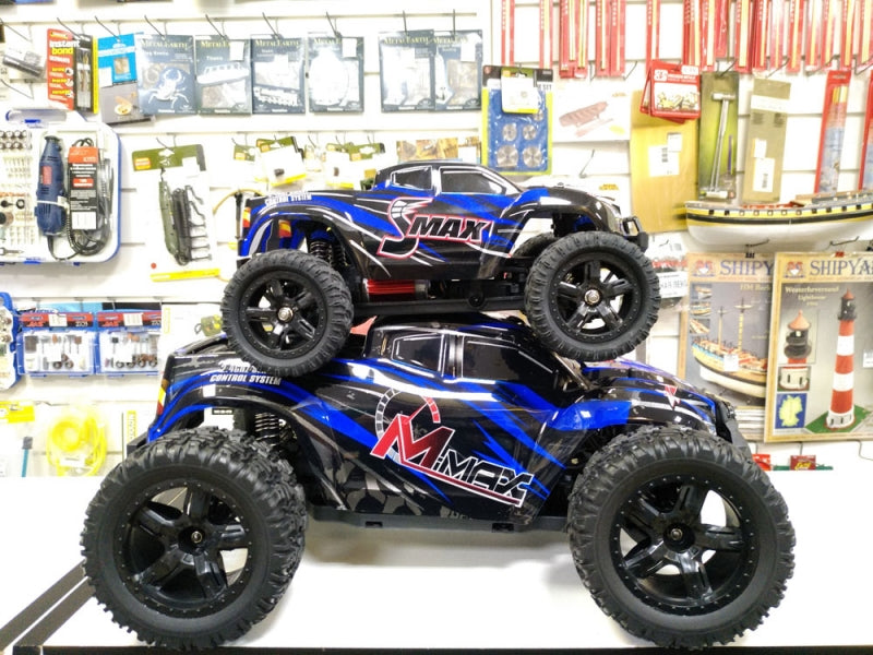 Remo Hobby 1/10 SCALE M MAX ELECTRIC 4WD 2.4GHZ RC OFF-ROAD BRUSHLESS MONSTER TRUCK