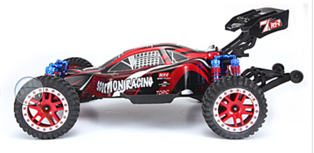 Remo Hobby 1/8 SCALE ELECTRIC 4WD 2.4GHZ RC OFF-ROAD BRUSHLESS BUGGY SCORPION RACING (Model#8055)