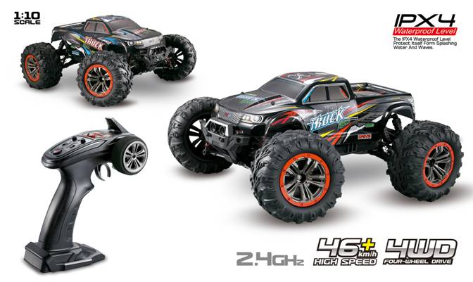 4WD Twin Motor Off Road Monster Truck  -  For Beginners or Intermediate Drivers