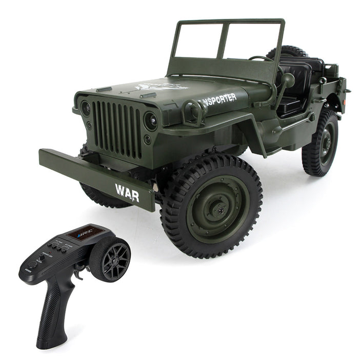 JJRC Transporter 6 1:10 2.4G 4WD RC Off Road military Truck