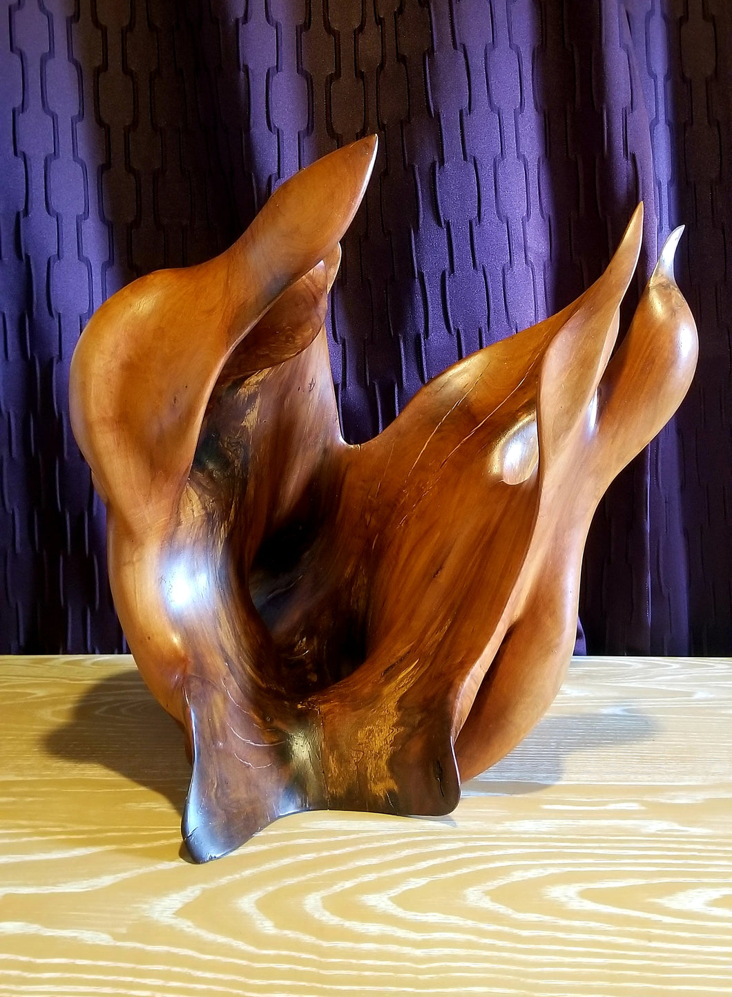 En Fuego – Charles Slaybaugh Original Wood Sculpture