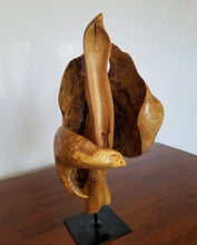 Load image into Gallery viewer, Paisley – Charles Slaybaugh Original Wood Sculpture – SOLD