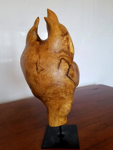 Paisley – Charles Slaybaugh Original Wood Sculpture – SOLD
