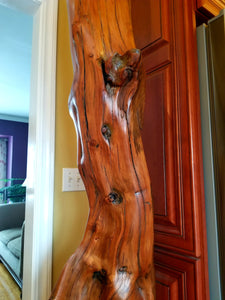Tiorati Tower – Charles Slaybaugh Original Wood Sculpture