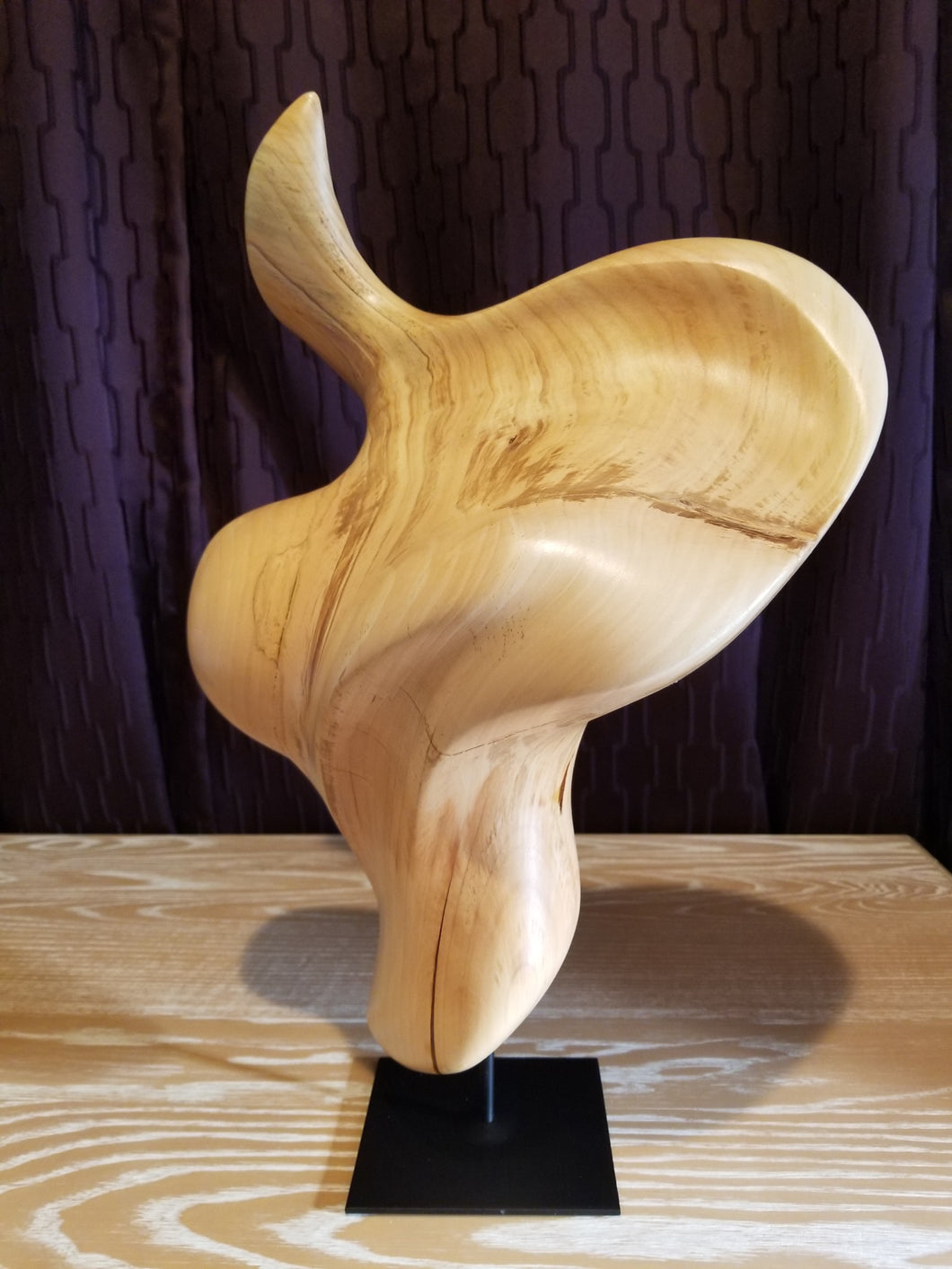 Whisper – Charles Slaybaugh Original Wood Sculpture