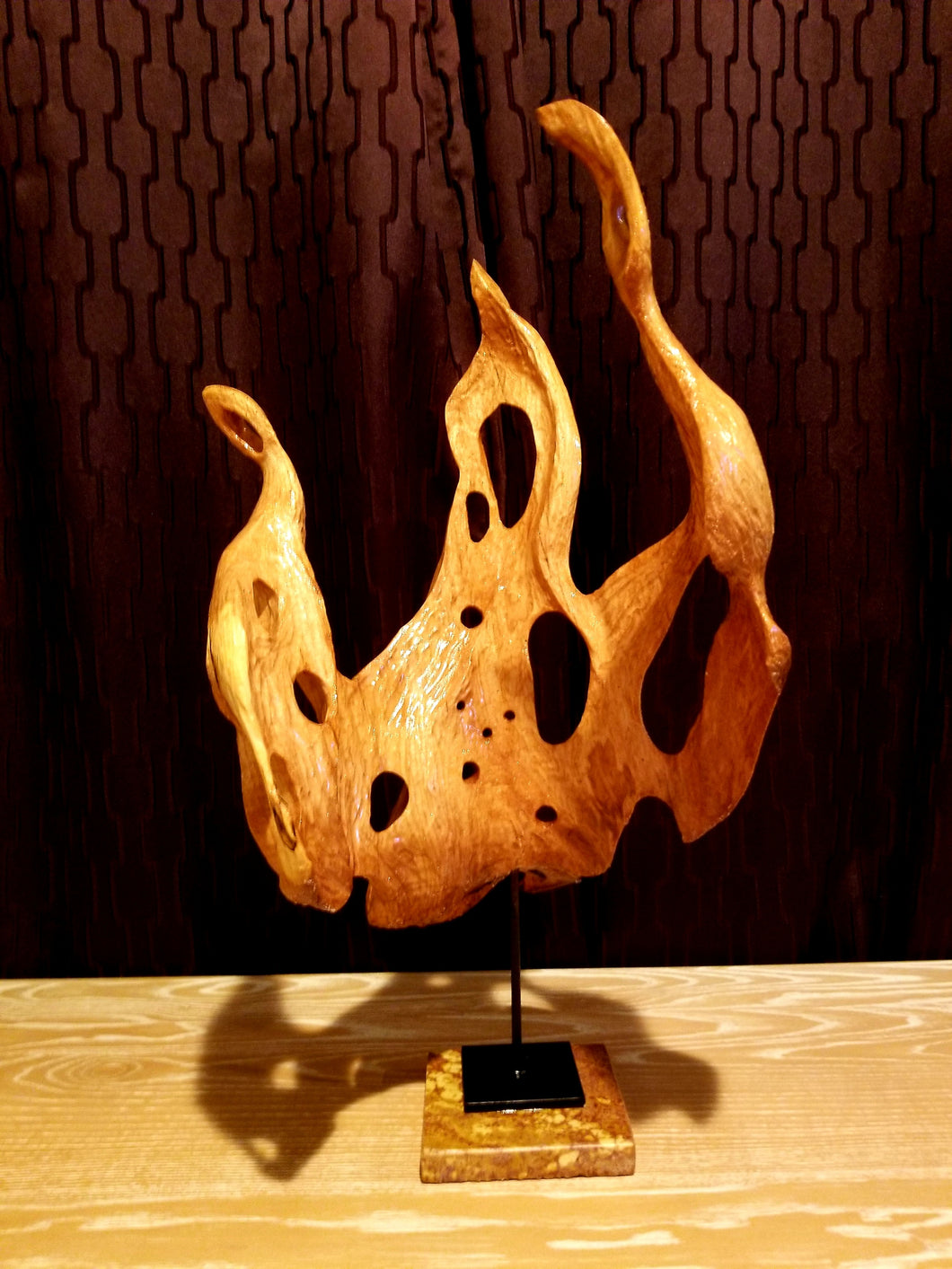 Ascend – Charles Slaybaugh Original Wood Sculpture