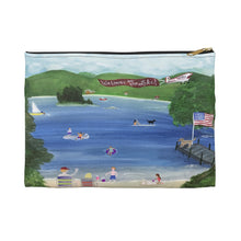 Load image into Gallery viewer, Accessory Pouch – Welcome to the Lake!