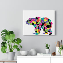 Load image into Gallery viewer, Bear -- Gallery Wrapped Canvas