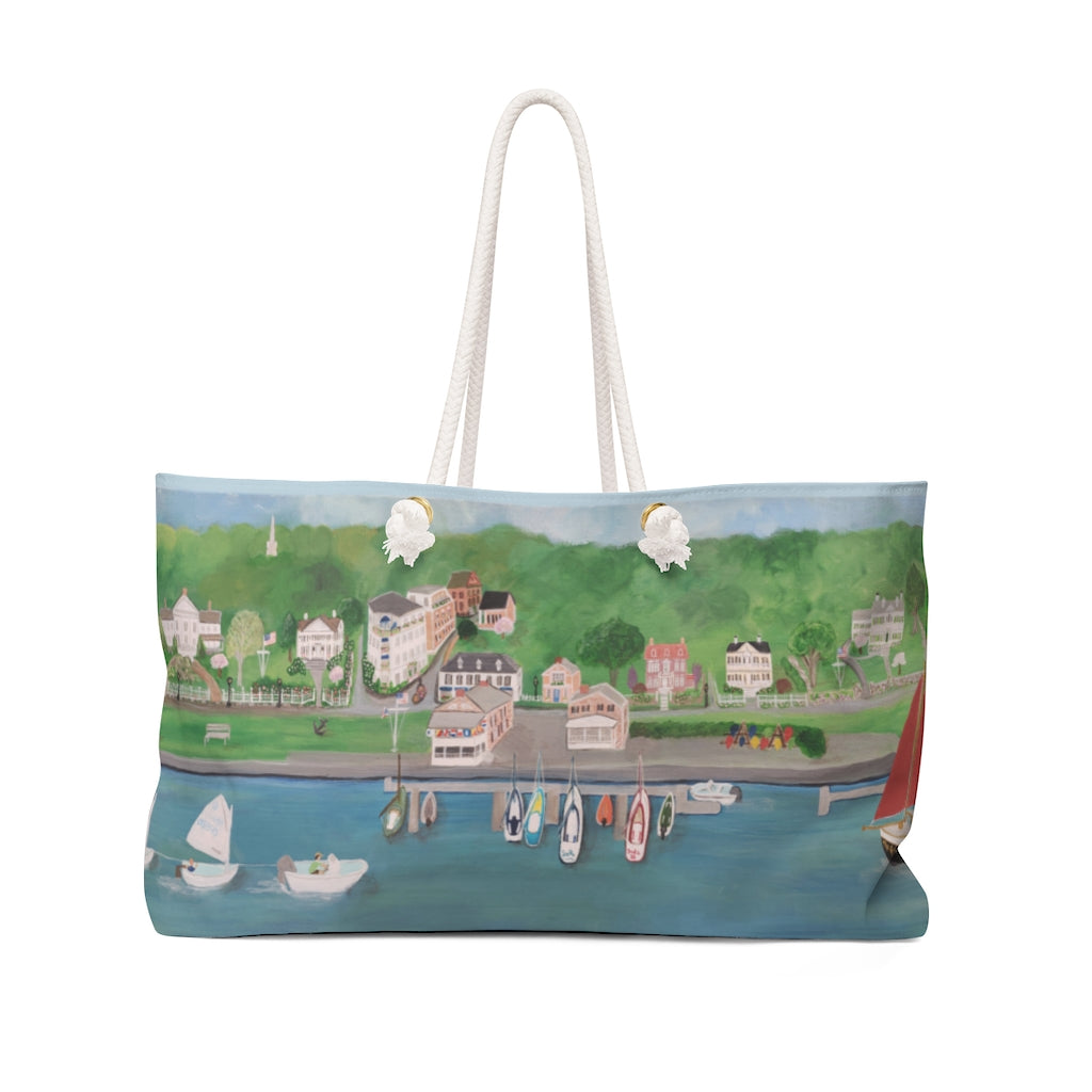 Beach Bag - Southport Harbor