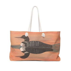 Beach Bag - Sunset Loon - NO wording