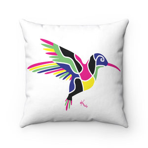 Pillow – Hummingbird (on white)