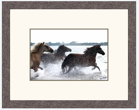 Clear Out! – Framed Print