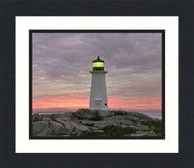 Load image into Gallery viewer, Cove Light, Peggy's Cove, Nova Scotia – Framed Prints 8x10