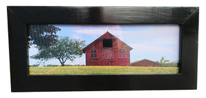Dandy Little Barn Photo – Framed in Rustic Black Frame