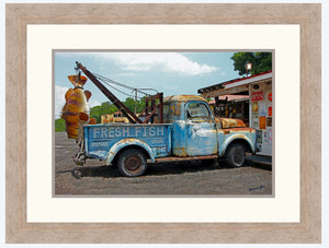 Fresh Fish – Framed Print
