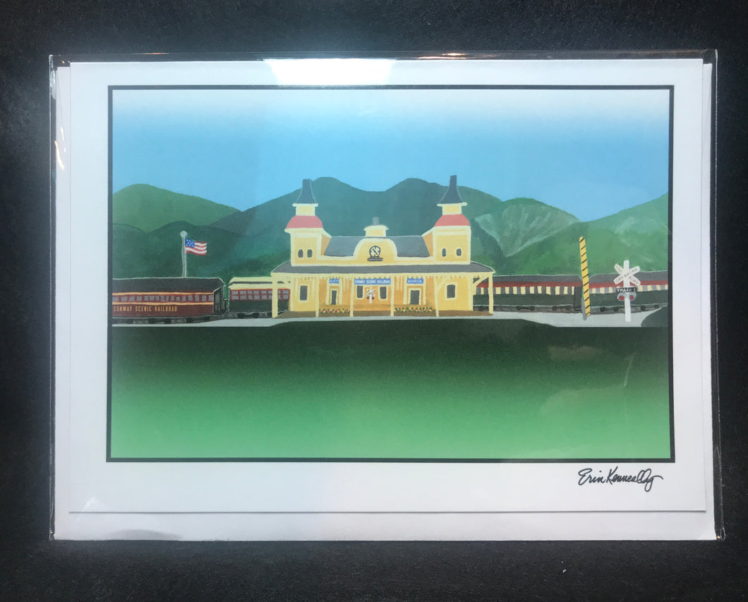 Note Card: Conway Scenic Railroad, Summer1