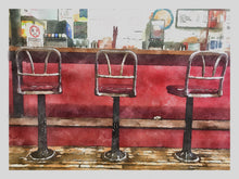 Load image into Gallery viewer, Rosie's Breakfast Bar – The Lovell Village Store – Note Cards (2 Versions)