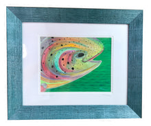 Load image into Gallery viewer, Rainbow Trout – Framed Original Art/Acrylic
