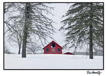 Load image into Gallery viewer, Note Card – A Dandy Little Barn – Winter
