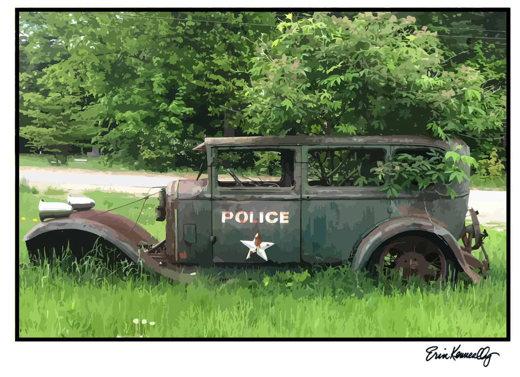 Note Card – Police!