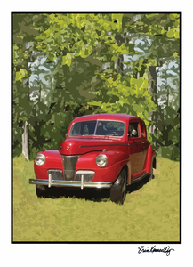 Note Card – 1941 Ford