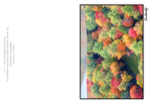Load image into Gallery viewer, Note Card – Aerial in Autumn