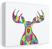 Load image into Gallery viewer, Stretched Canvas – The Painted Moose