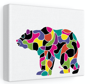 Stretched Canvas – Bear