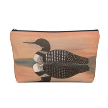 Load image into Gallery viewer, Accessory Pouch w T-bottom – Sunset Loon