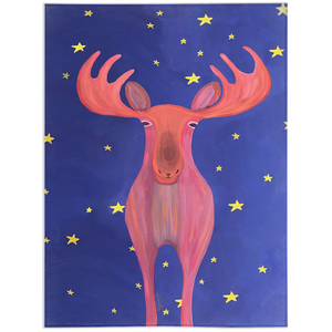 Minky Blanket – The Mystical Moose